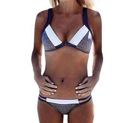 BeachwearMorecome Women Bikini Set Swimwear Bra Swimsuit 0