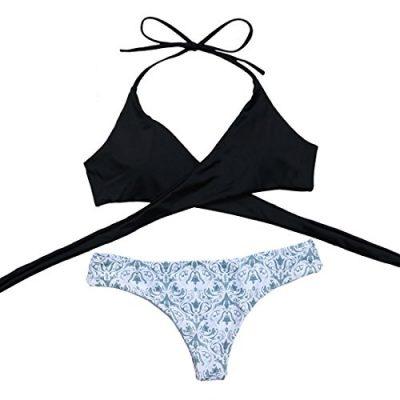 MOOSKINI Womens Padded Push up Bikini Set Bathing Suits Two Pieces Swimsuit 0