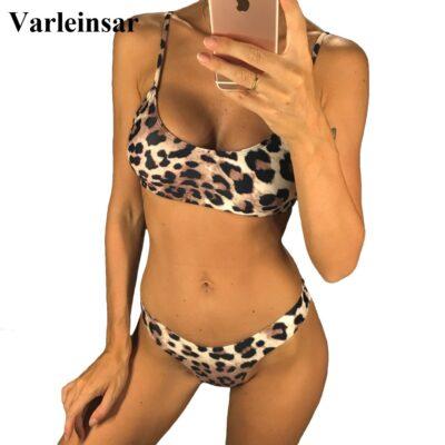 14 Colors 2021 Sexy Leopard Bikini / Women Swimwear 1
