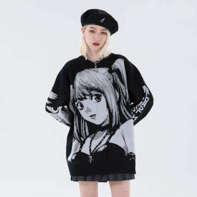 Women's' Oversized Sweaters Long Sleeve Top 1